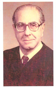 photograph of Judge DeMayo